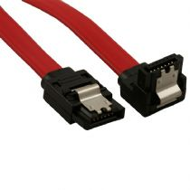 SATA2 7 Pin Straight to Right Angle 45cm Data Cable
